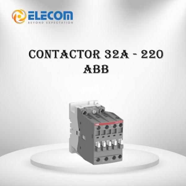 Contactor-32A-220V-ABB